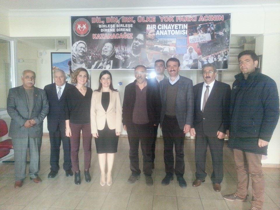 CHP Aydın Milletvekili a.adayı Ferda Çağlar Erkut Didim den sonra Söke H