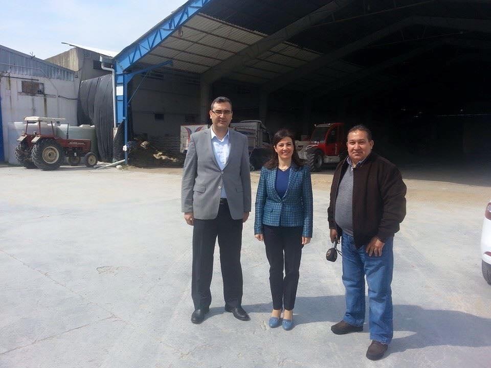 Söke Ticaret Borsası Başkanımız Salih Deniz Günal ı ziyaret ettik ... Ço