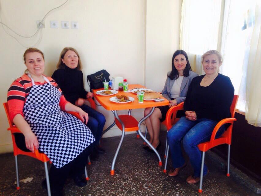 Buharkent Kadın Kolları Başkanımız Ayten Okkalı ve Belediye Meclis Üyemi