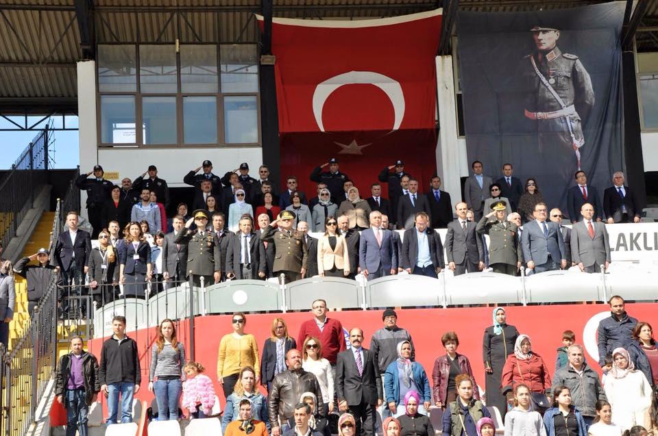 23 Nisan Ulusal Egemenlik ve Çocuk Bayramı Kutlama Törenine Katıldık...