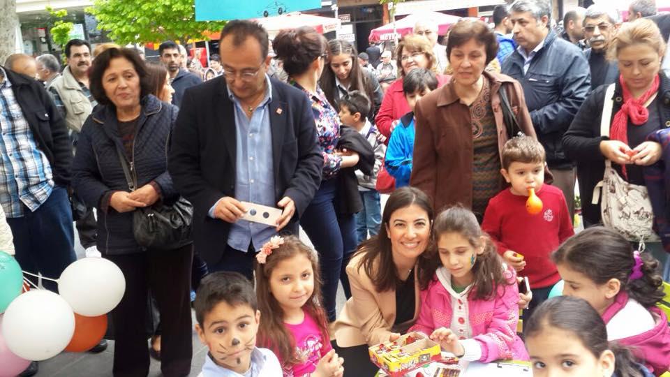Nazilli İlçe Örgütümüzün Düzenlediği 23 Nisan Etkinliğinde Çocuklarımızl