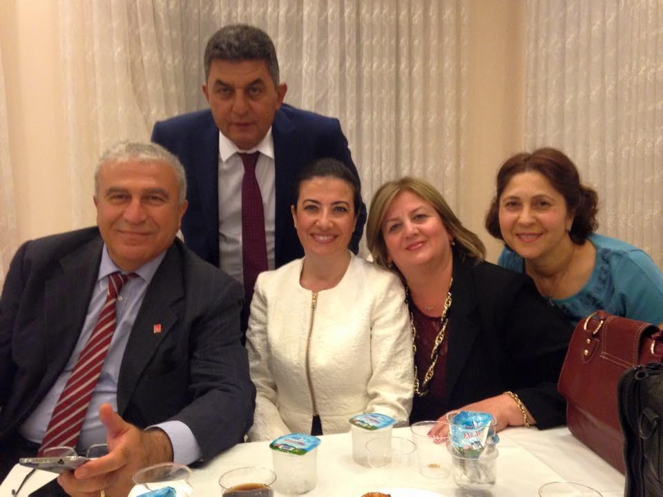 Değerli partilimiz Mesut Yörükoğlu un kızı Cansu Yörükoğlu un düğünündey