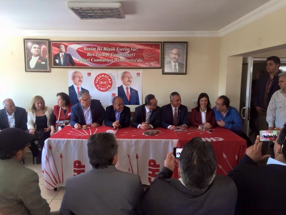 Genel Başkan Yardımcımız Bülent Tezcan ve Tayfun Talipoğlu ile Nazilli I