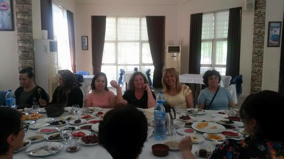Nazilli Kadın Kollarımızla Kahvaltıdaydık...Çok teşekkürler...