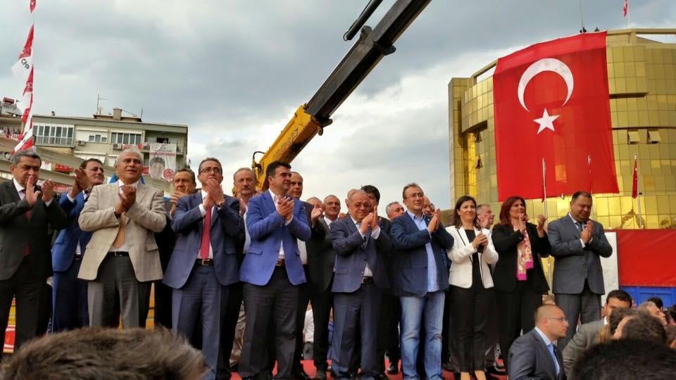 Genel Başkanımız Sayın Kemal Kılıçdaroğlu ile Aydın Mitingimiz...