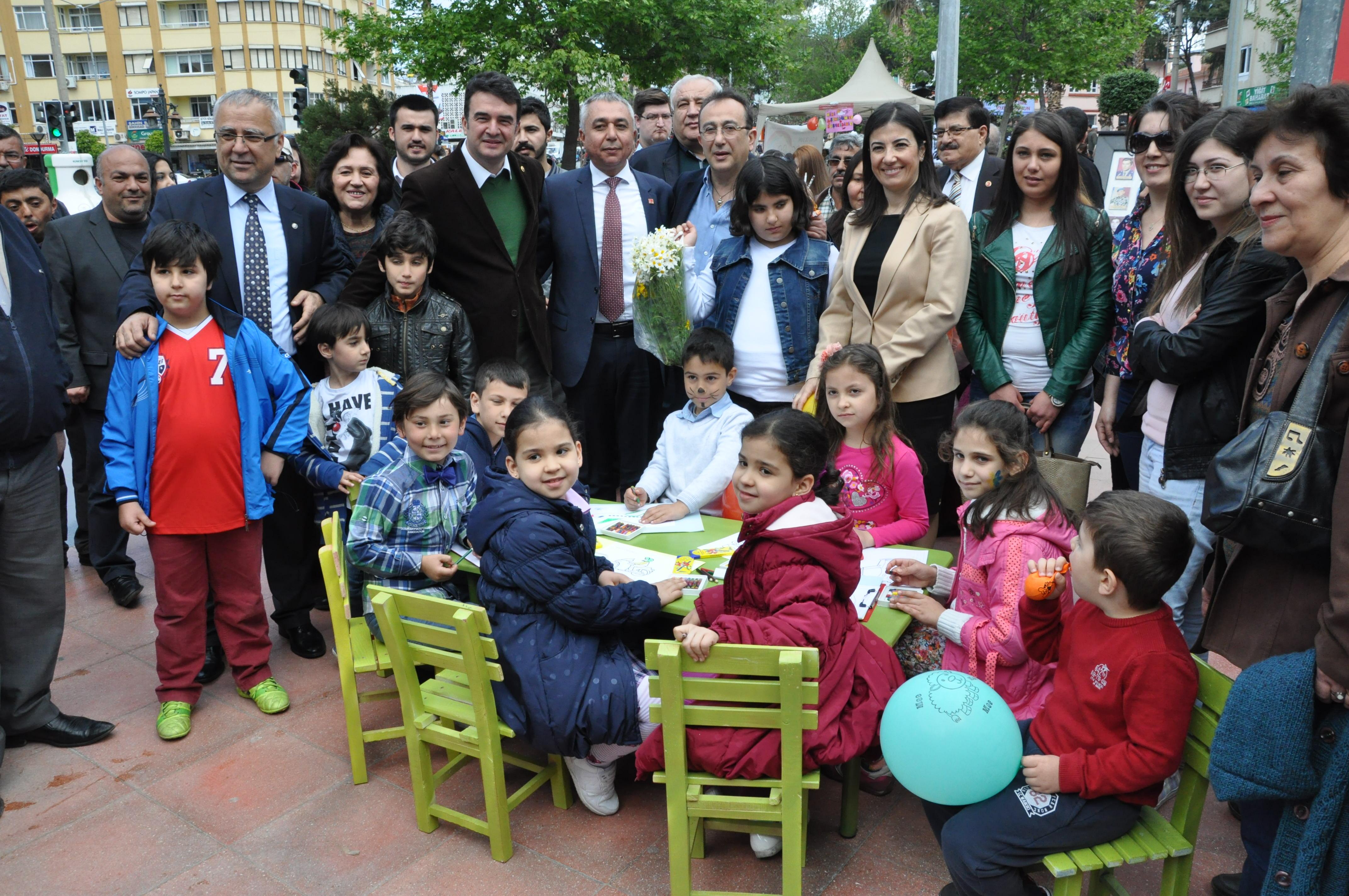 Çocukların Gününde CHP'den Anlamlı Etkinlik