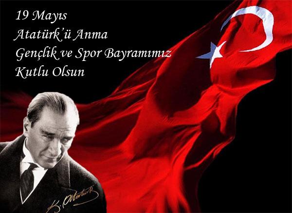 19 Mayıs Atatürk'ü Anma Gençlik ve Spor Bayramınız Kutlu Olsun...